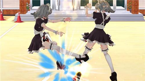 高中女生大决战